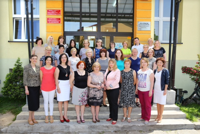 Grono pedagogiczne ZS1 w Jaworznie