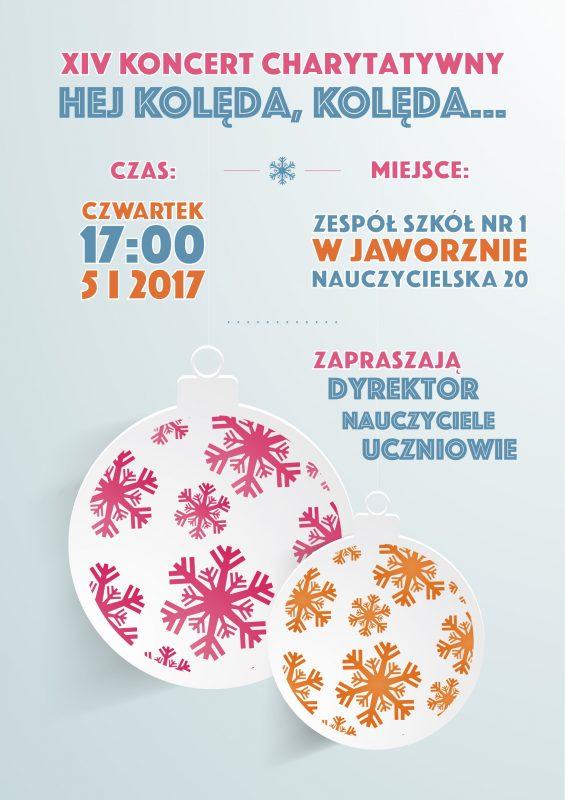 Plakat - Koncert Charytatywny