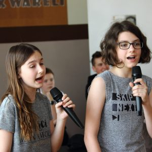 Alicja Zwolińska i Martyna Kiszkan
