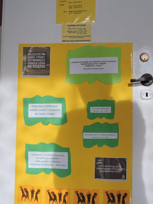 biblioteka plakat